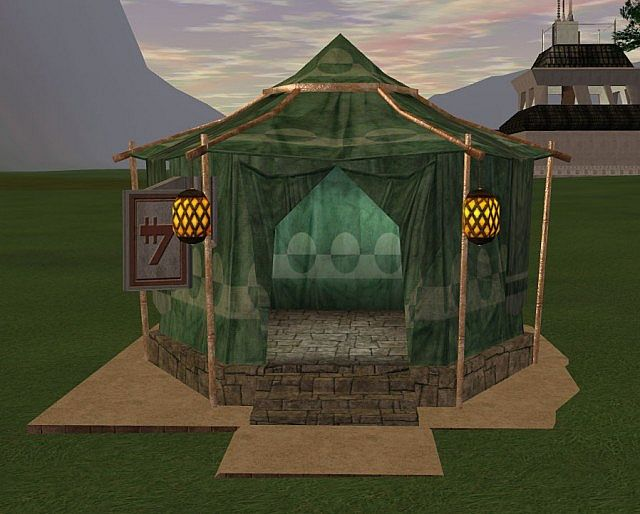 Actual in game Tent : tent house project report - memphite.com