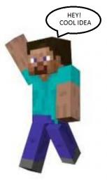 Minecraft acting like a creative inspiration Minecraft Blog Post