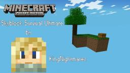 Skyblock Survival Ultimate v2.3 for MCPE (Minecraft Pocket Edition) 0.8.0/0.8.1 Minecraft Map & Project