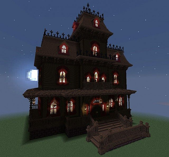 Phantom Manor From Disneyland Paris Minecraft Project