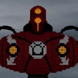 Flammenwanderer (giant robot) Minecraft Map & Project