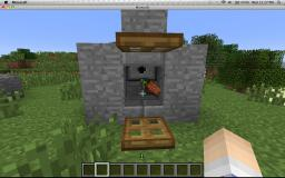 stone farm and mob harvester Minecraft Project