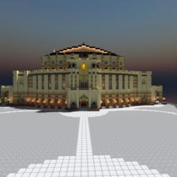 The Semper Oper Dresden Replica ( Famous German Sight ) Minecraft Project