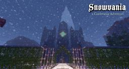 Snowvania -- a Castlevania adventure Minecraft