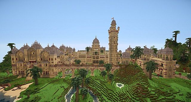 Laxmi Vilas Palace [NEW download] Minecraft Project