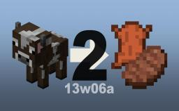 Input New Cows, Output Beef & Leather. No Waste! Minecraft Map & Project