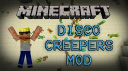 Disco Creepers Mod (DANCING CREEPERS!) - Mod Spotlight Minecraft Blog Post