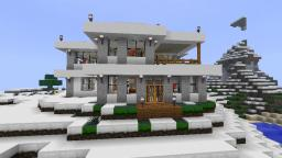 Modern Winter House Minecraft