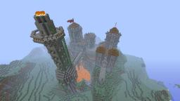 Old Castel Minecraft Map & Project