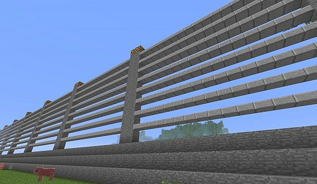 how to make a fence in minecraft 1.0