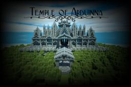 Temple of Arduinna  w/ Cinematic Minecraft Map & Project