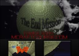 The End Mission Minecraft Map & Project