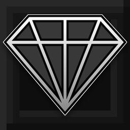 [1.8-1.16] Black Crystal - Dark Mode GUI Minecraft Texture Pack