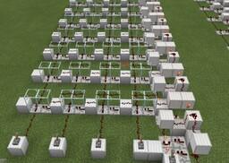 Modular/expandable simple Queue design Minecraft Map & Project