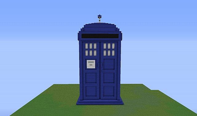 Doctor who TARDIS Minecraft Project