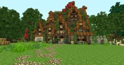 Rider Outpost on the Isles of Quiescence Minecraft