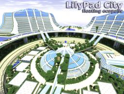 Lilypad - floating ecopolis, full equipped & epic island Minecraft Map & Project