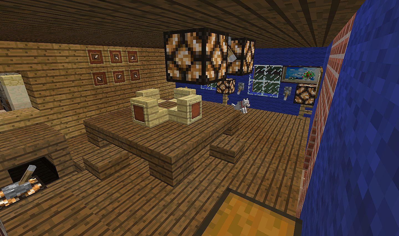 Modern Home -Minecraft size! Minecraft Project