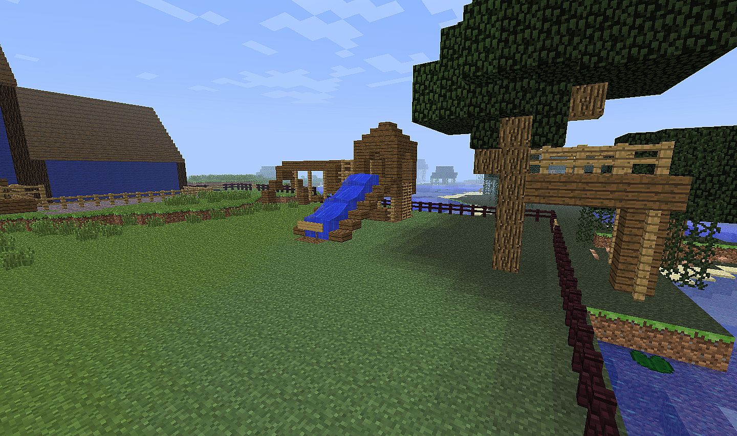 Modern Home -Minecraft size! Minecraft Project on Backyard Ideas For Minecraft id=34169