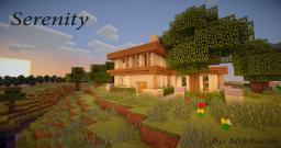 Serenity [Modern Home] by Mrjrbacon Minecraft Map & Project