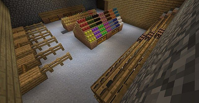 How To Build Shelves In Minecraft