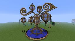 Lamp of the spheres Minecraft Project