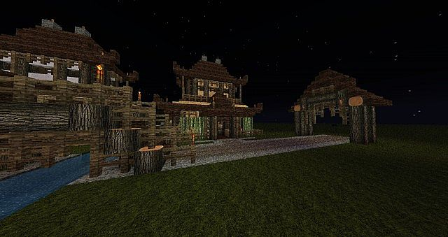 how to build a sushi restaurant in minecraft