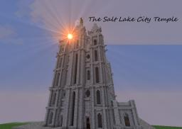 The Salt Lake City Temple (Angel Block app) Minecraft Map & Project