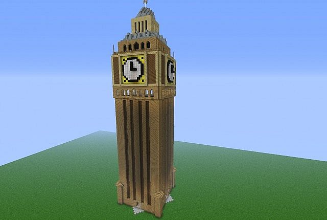 Big Ben Minecraft Project