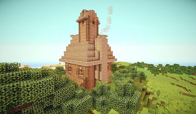 Hillside Manor: Hillside Manor Minecraft Project
