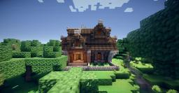 Cozy Cottage Home Minecraft Map & Project