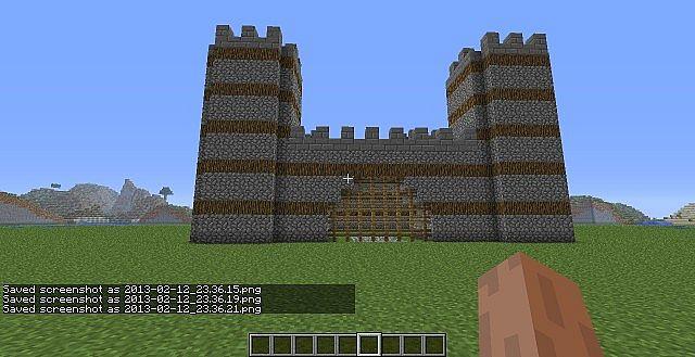 Mini Castle Minecraft Project