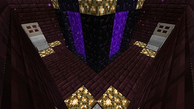 View from Nether Hub