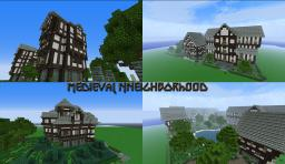 Medieval Nneighborhood Minecraft Map & Project