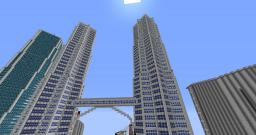 Twin Towers Minecraft