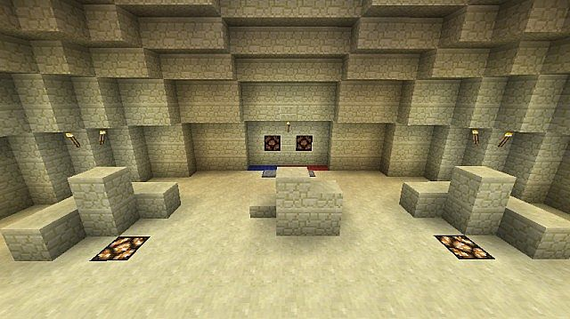 how to build desert temple minecraft