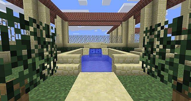 mini courtyard