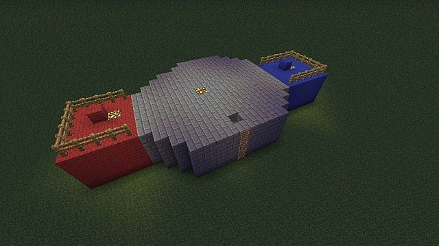 A Small Arena Minecraft Project