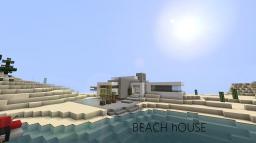 [Modern] Beach House-Modern Luxury by _MagicBacon_ Minecraft