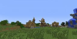 My friends town in mc. Still under construction Minecraft Map & Project