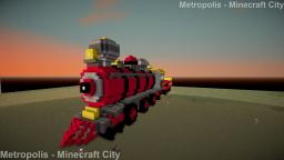 Train - Steam locomotive Minecraft Project
