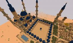 Great Blue Mosque (Arabian / Desert City Project) Minecraft Map & Project