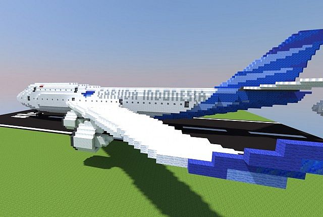 How To Craft A Plane In Minecraft
