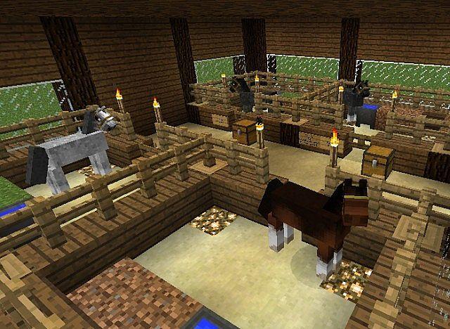 October Valley Horse Farm Minecraft Project