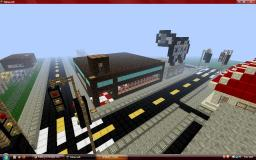 A Simple City Minecraft Map & Project