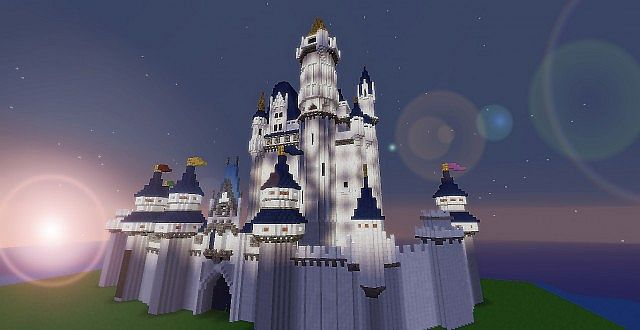 Disney Project: Cinderella's Castle Minecraft Project