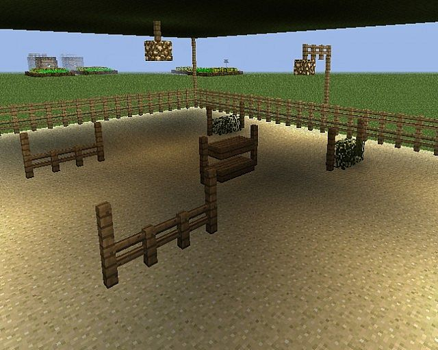 October Valley Horse Farm Minecraft Project