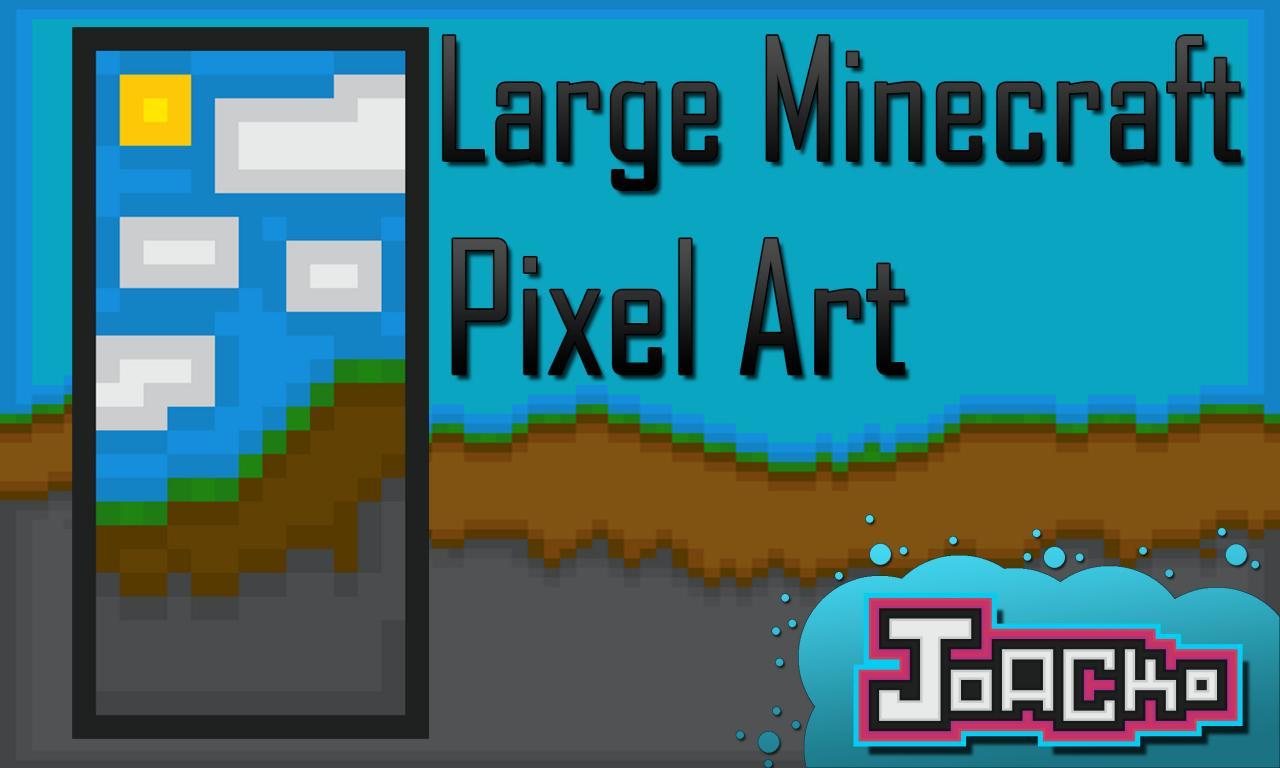 Download Wallpaper Minecraft Art - Large-Minecraft-Pixel-Art_4833913_lrg  Pictures_303771.jpg