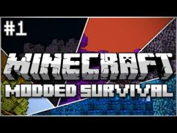Modded Survival Minecraft