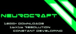 NeuroCraft 1.1.2 [Cyberpunk themed Texture Pack] Minecraft Texture Pack